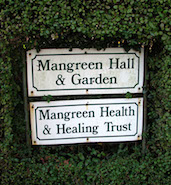 Mangreen Entrance Sign